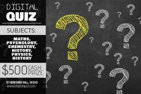 Customizable design templates for quiz night postermywall quiz night poster template stopboris Gallery