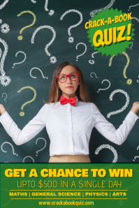 Quiz Night Poster Template