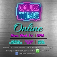 Quiz Time Online Square (1:1) template