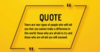 QUOTE DESIGN Facebook Shared Image template