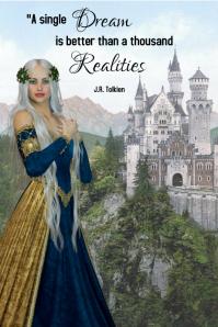 quote/fantasy/castle/birthday/medieval/fiesta