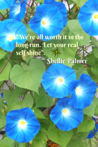 Shellie Palmer's Quote of The Day Template: Let Your Real Self Shine