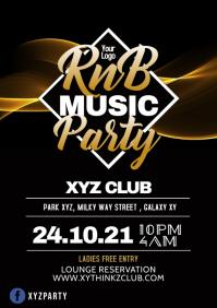 R&B Rnb r'n'b Hip Hop Music Party Club Black Music Oldschol