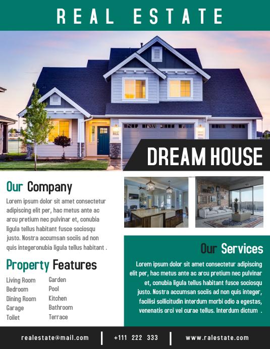 Raal Estate Flyer Template Creative Design