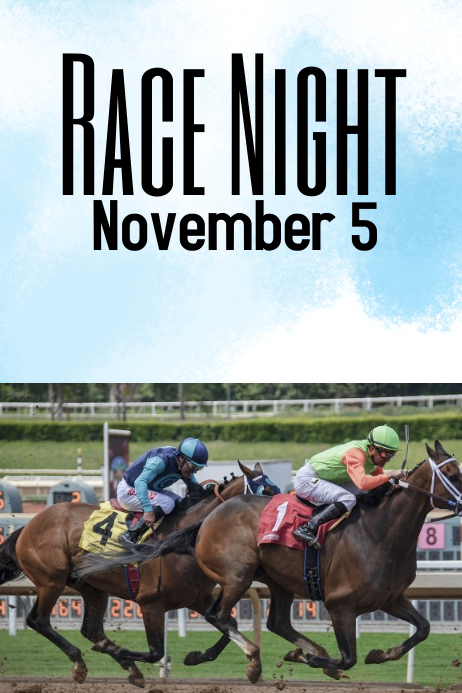 race night template