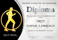 race walk diploma first