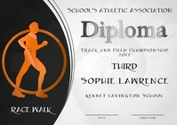 race walk diploma third
