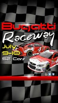 Raceway Instagram Digital Display (9:16) template