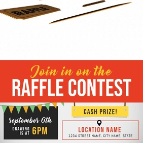 Raffle Contest Square Video