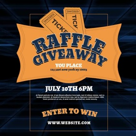 Raffle Giveaway Instagram Video Template