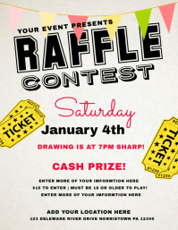 raffle flyer templates free download thevillas co