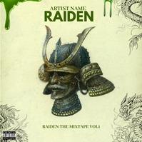 RAIDEN Mixtape / Album Cover Artwork Template 专辑封面