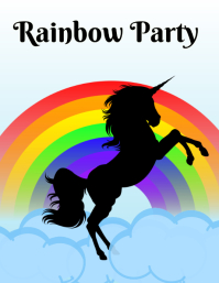 Rainbow and Unicorn Party