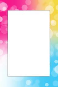 Rainbow Party Frame