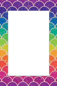 Rainbow Party Prop Frame