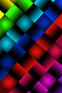 Rainbow Weave (Dark) Background