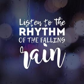 Rainy quote