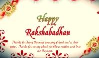 Raksha Bandan Tag template