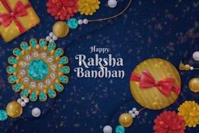 Raksha Bandhan Template Poster