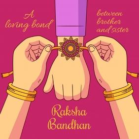 Raksha Bandhan Template
