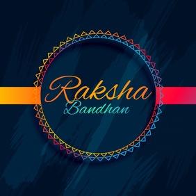 Rakshabandhan,holi,diwali สี่เหลี่ยมจัตุรัส (1:1) template