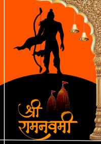 Ram Navami A4 template