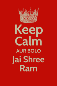Ram Navami Poster Template