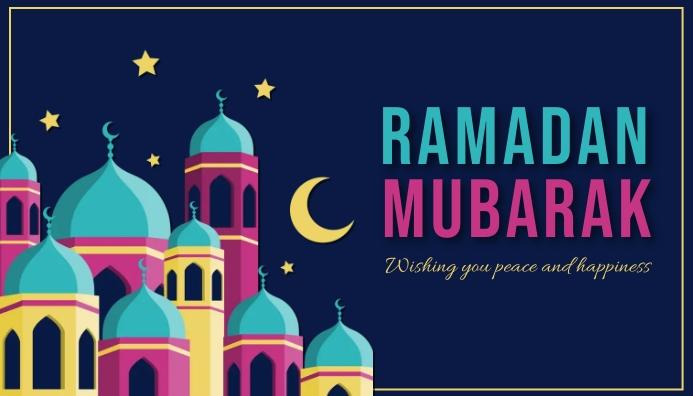 Ramadan, event Blogkop template