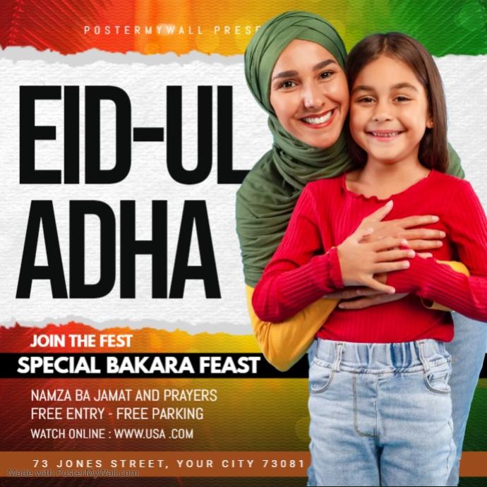ramadan,eid Square (1:1) template