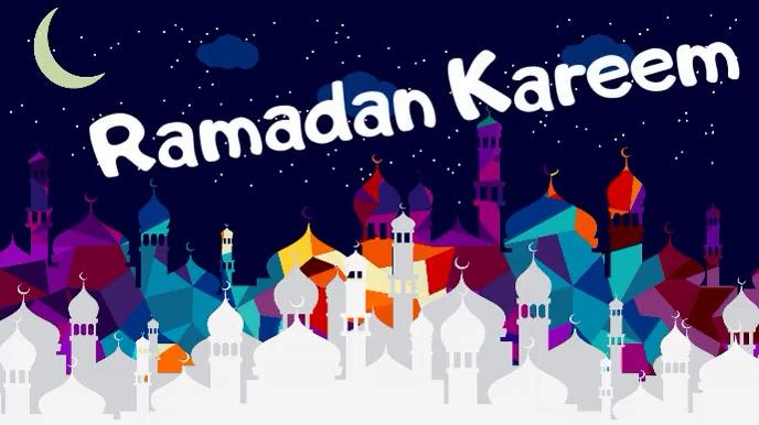 ramadan,event 数字显示屏 (16:9) template