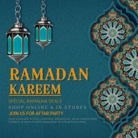 Ramadan,ramazan Instagram-bericht template