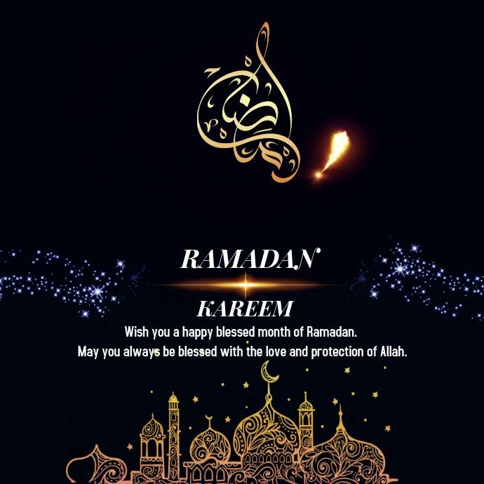 Ramadan 2020 Design Post Instagram template