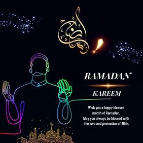 Ramadan 2020 Design Instagram na Post template