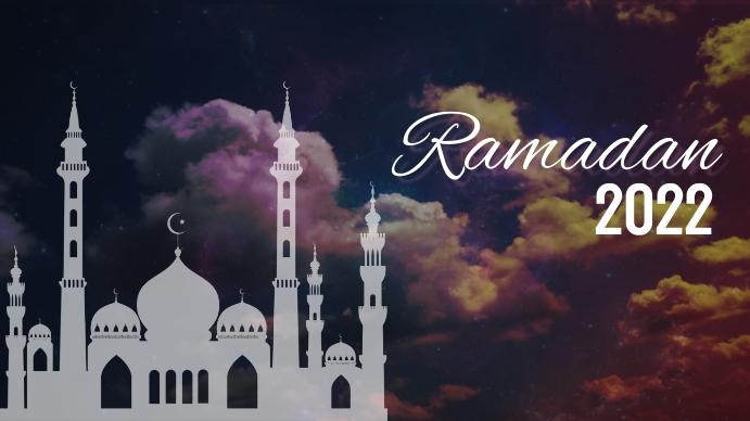 Ramadan 2021 Template Digitalt display (16:9)