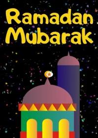 Ramadan A 4 SizeTemplate A4