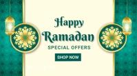 Ramadan ad,event, eid Message Twitter template