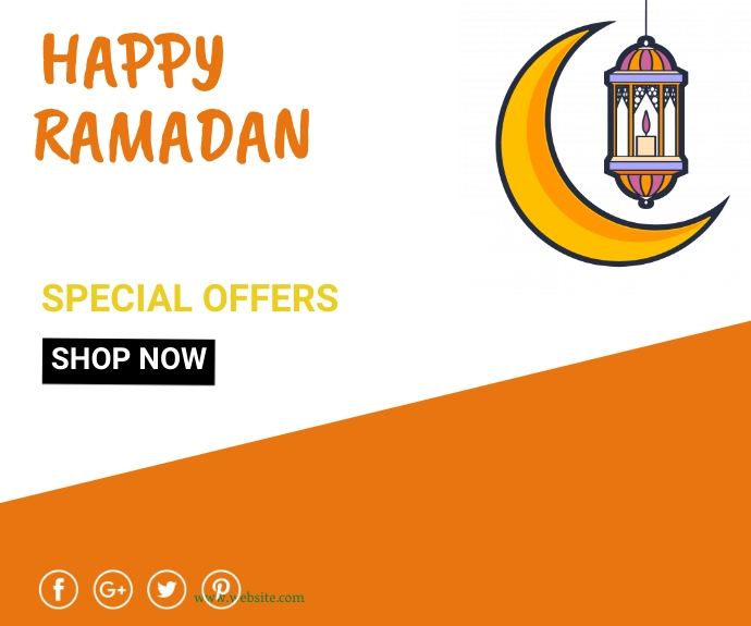 Ramadan ad,event Средний прямоугольник template
