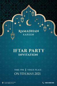 Ramadan banner Transparent 4 stopy × 6 stóp template