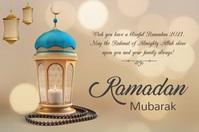 Ramadan cards, Ramadan wishes Poster template