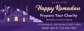 Ramadan Charity Advertisement Facebook Banner