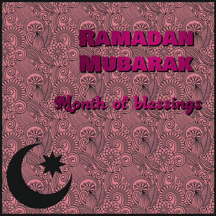 ramadan Album Omslag template