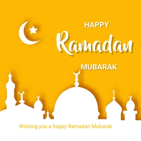 Ramadan Message Instagram template