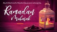 Ramadan Nagłowek bloga template