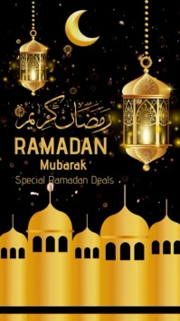 Ramadan História do Instagram template
