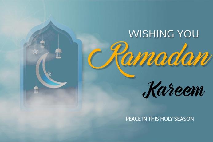 ramadan Plakat template