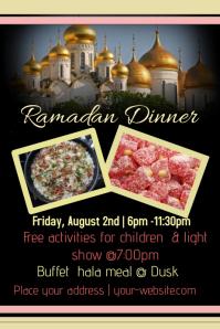 Ramadan Dinner Template