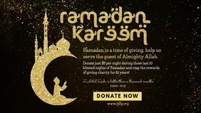 Ramadan Dinner Invitation Banner Template
