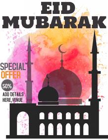 ramadan flyer,Eid mubarak flyer,event flyers