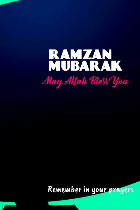 Ramadan Flyer Poster template
