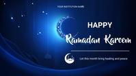 ramadan flyers Tampilan Digital (16:9) template